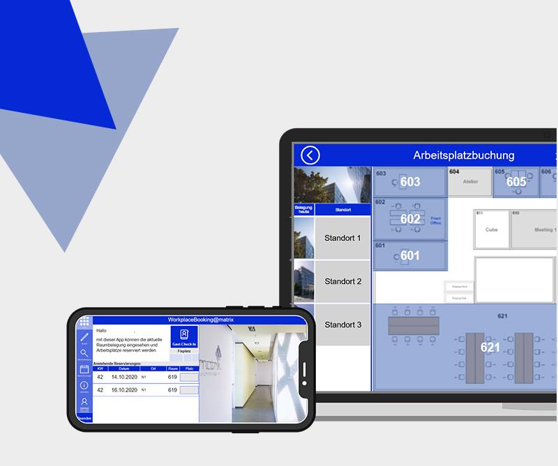 Workplace Management App|  Beispiel WorkplaceBooking@matrix
