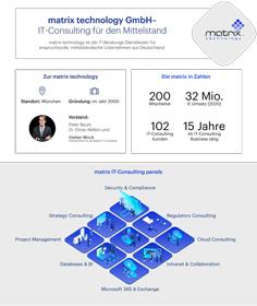 matrix Fact-Sheet IT-Consulting