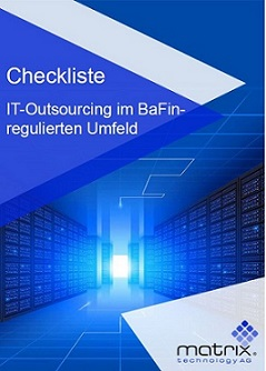 Checkliste, IT-Outsourcing, BaFin, Banken