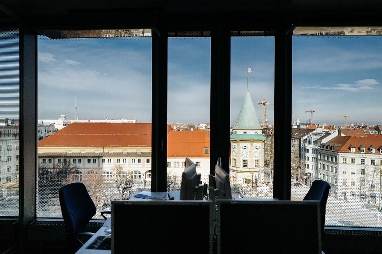 matrix technology AG, München, Büro