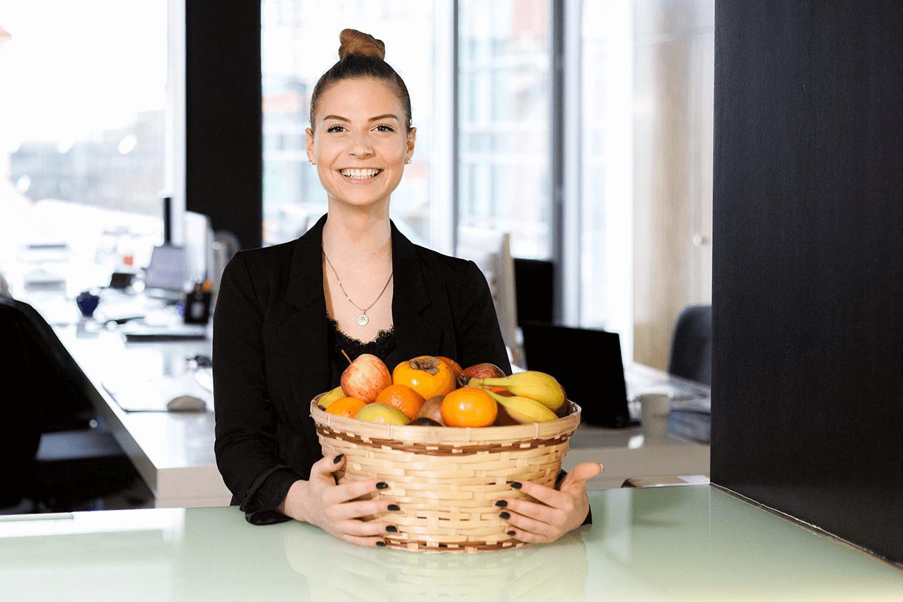 Bild Sara (Team Assistant Office Management)
