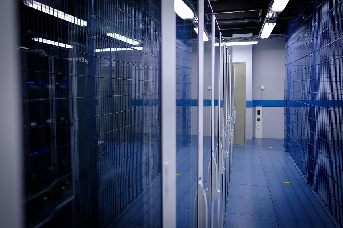 Rechenzentrum, matrix technology AG, SpaceNet
