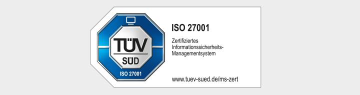 Zertifizierung, matrix technology AG, ISO 27001, TÜV